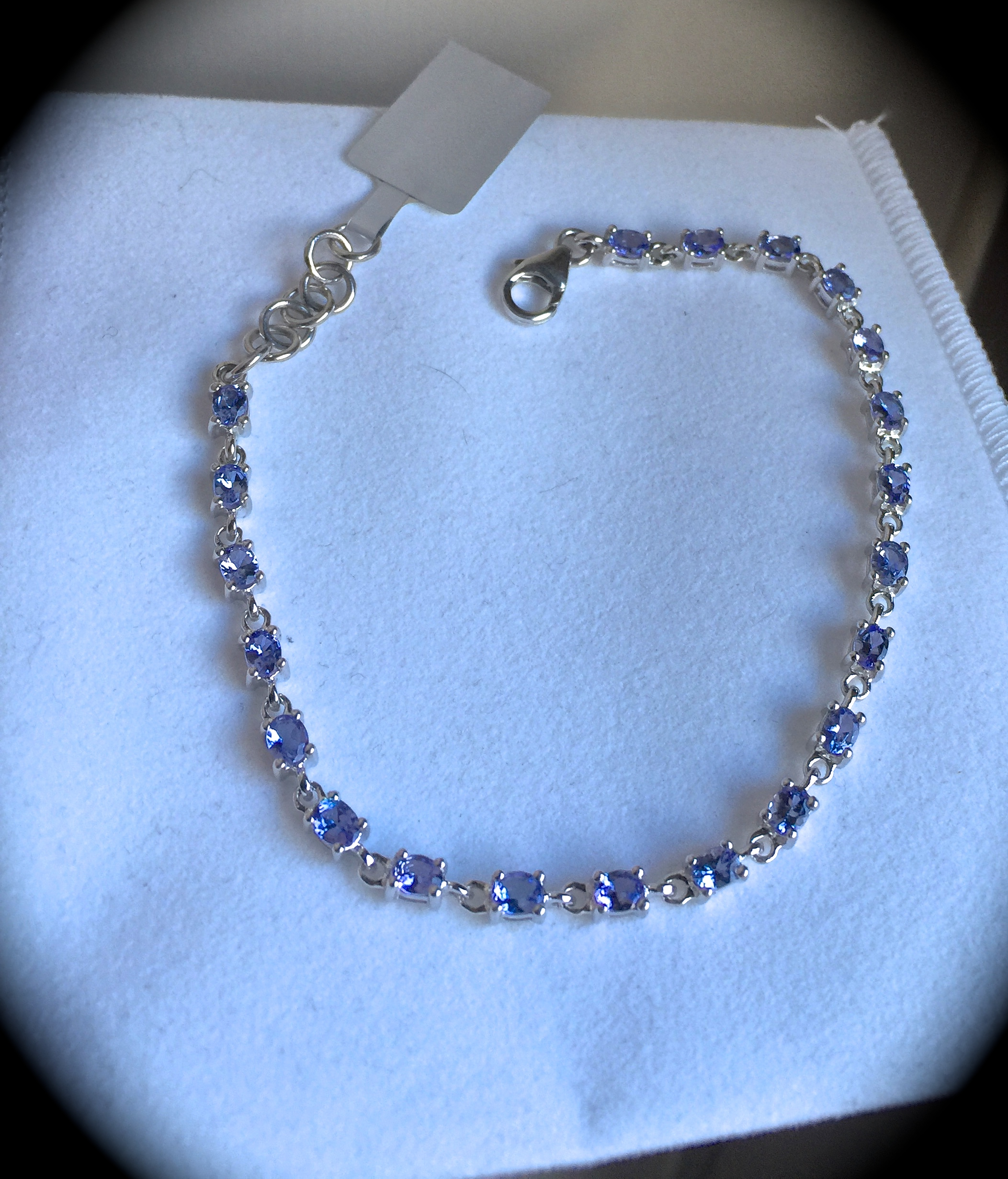 gold bay rctansn cut products rose tanzanite third necklace silver necklaces sterling vermeil on