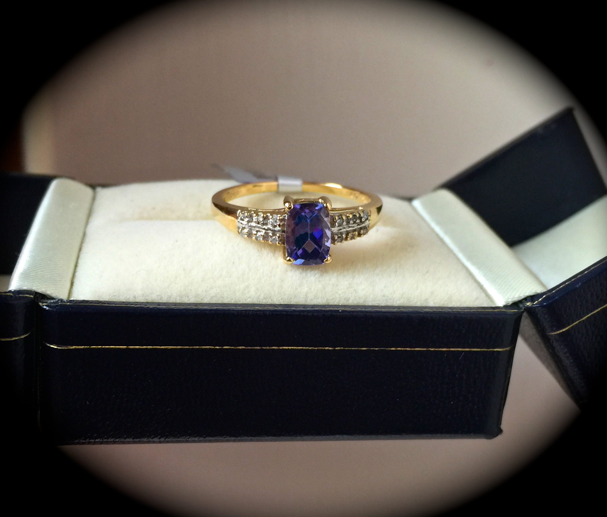 diamond size o tanzanite ring investment bespoke products y grade rings gold img