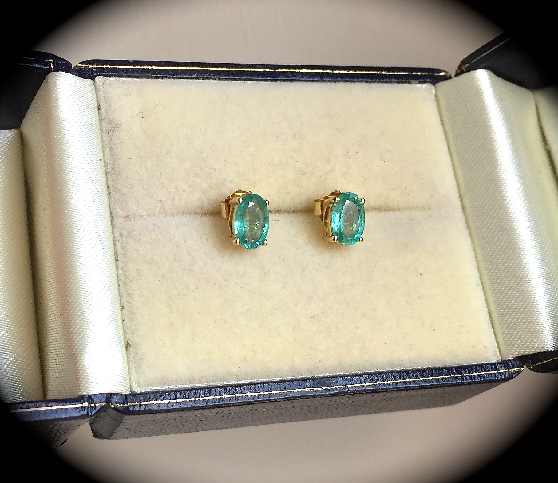 emerald natural diamond buy earrings larger items view l sold halo and drop