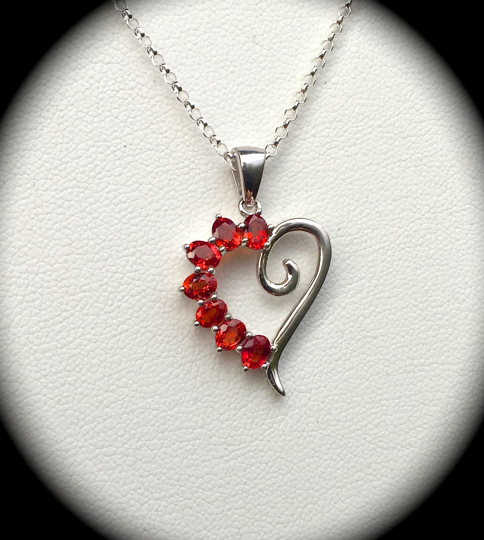 Genuine ruby heart pendant chain 925 silver certified exquisite img0346 mozeypictures Gallery